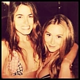 A bikini-clad Nikki Reed hung out with friends.  Source: Instagram user vegaalex