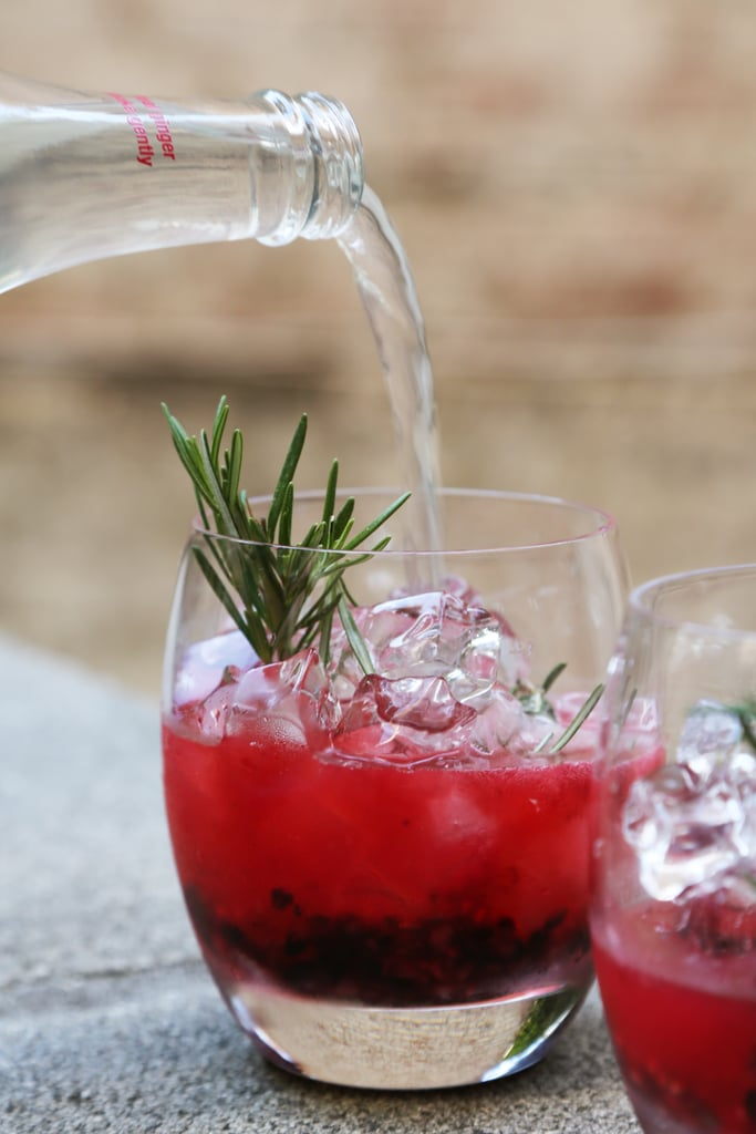 Vodka Cocktail With Fresh Berries