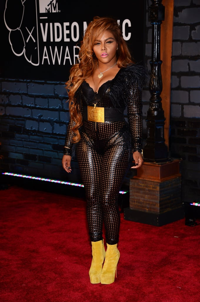 Lil' Kim attended the MTV VMAs.