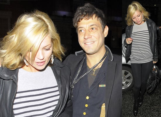 29/01/2009 Kate Moss and Jamie Hince