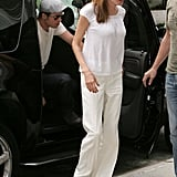 Varying Shades of White Might as Well Be the New Luxe Suit
