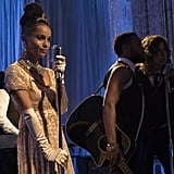 Zoë Kravitz as Audrey Hepburn's Eliza Doolittle in Big Little Lies