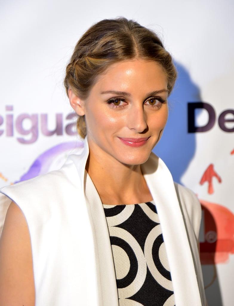 Olivia Palermo at Desigual