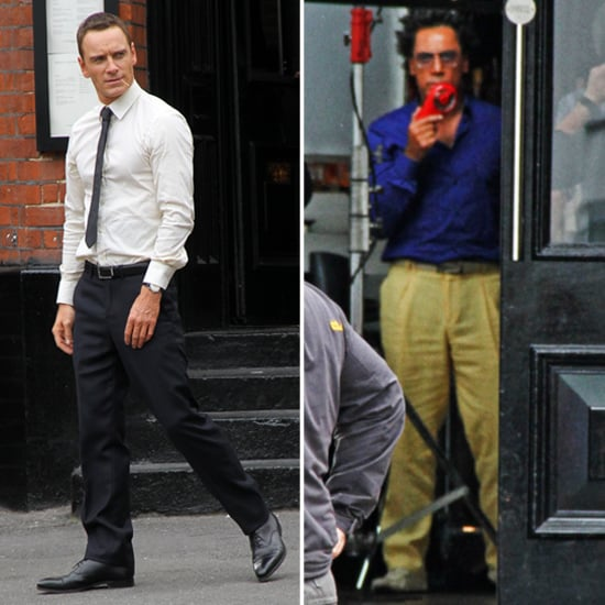 Michael Fassbender and Hot Javier Bardem Get to Work on The Counselor