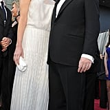 Prince Albert and Charlene Whitstock stand tall on the Oscars red carpet