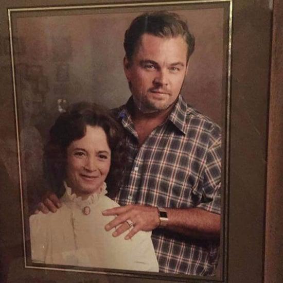 Grandma's Photoshop of Leonardo DiCaprio 2017