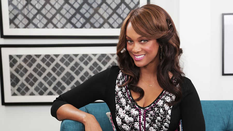 Tyra Banks Wants Us Ladies to Love Our Bodies This Holiday Season