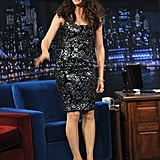 Pictures of Jennifer Garner Playing Beer Pong on Late Night With Jimmy Fallon