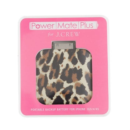 Fabulous meets function with this adorable leopard-print iPhone backup battery ($40). Considering my phone's always dying on me, I think this is at the top of my wish list! — Tara Block, assistant editor