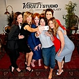Molly Parker, Anna Gunn, Christina Hendricks, Lena Headey, Bellamy Young, and Michelle Monaghan took a selfie at the Variety Studio in LA on Thursday.