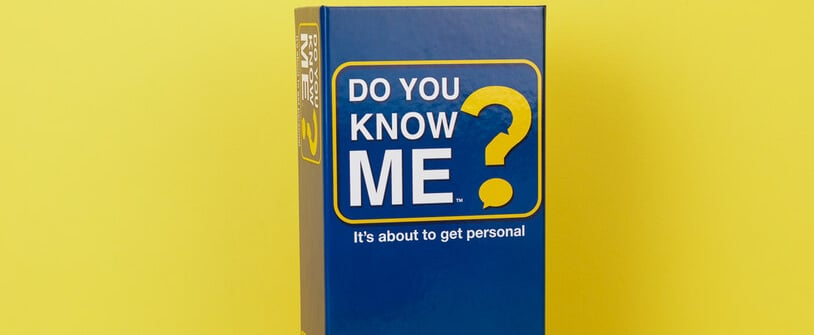 The Do You Know Me? Game Asks Very Personal Questions