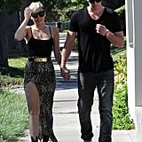 Miley Cyrus Holds Hands on a Sunny Afternoon With Liam Hemsworth