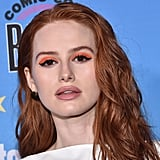 Madelaine Petsch's Neon Orange Eye Makeup