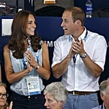 They only had eyes for each other at the July 2014 Commonwealth Games in Scotland.