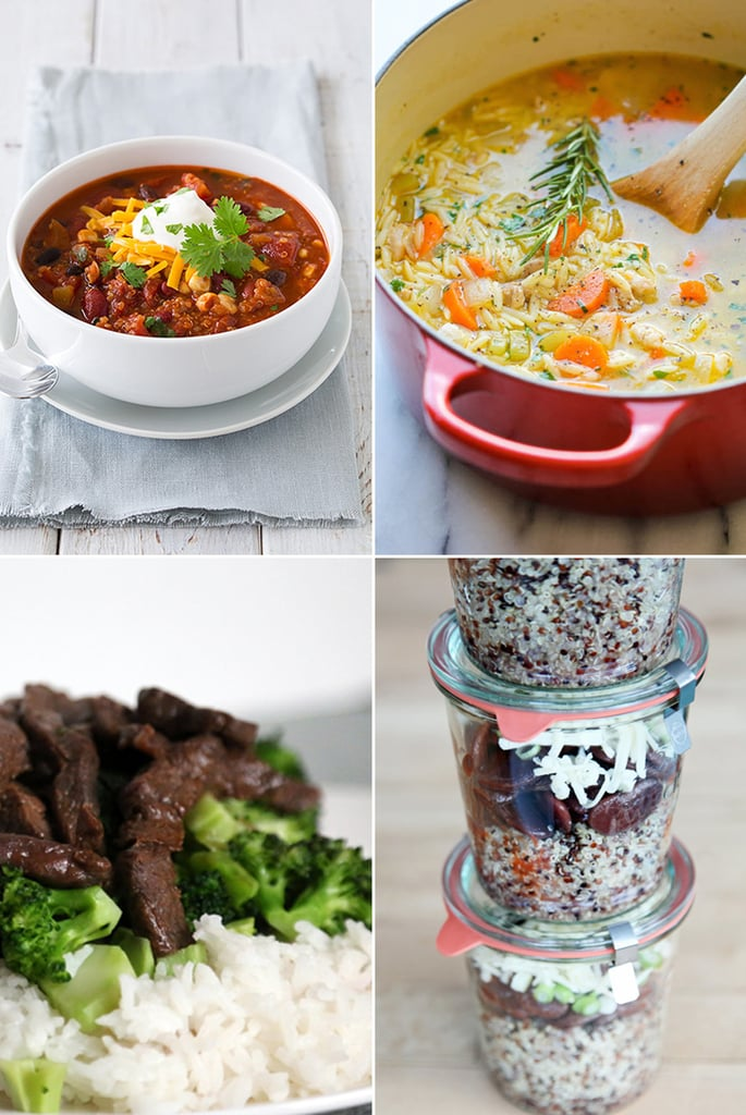 Hot Lunch Recipes