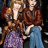 She Sat Front Row With Anna Wintour