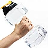 Dumbell-Shaped Water Bottle