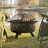 Crossweave Wood Burning Fire Pit