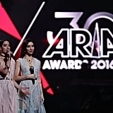 The Veronicas hosted (last minute!) and they did a stellar job.