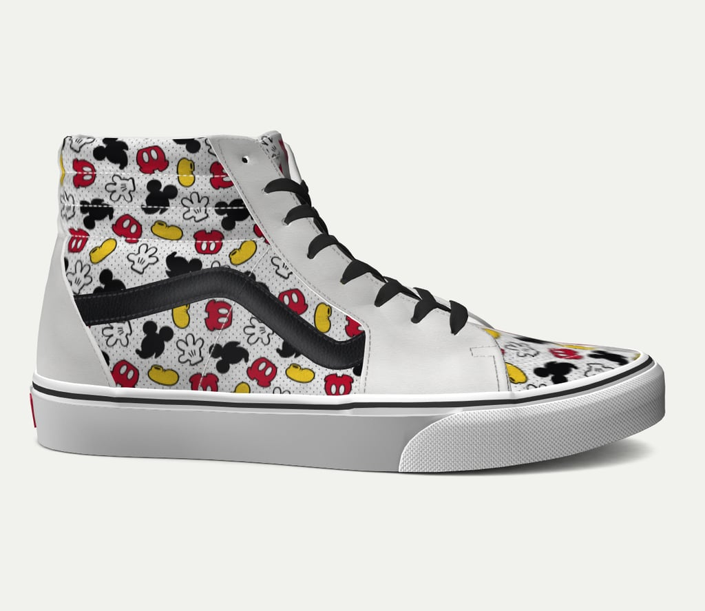 disney x vans sk8-hi shoes