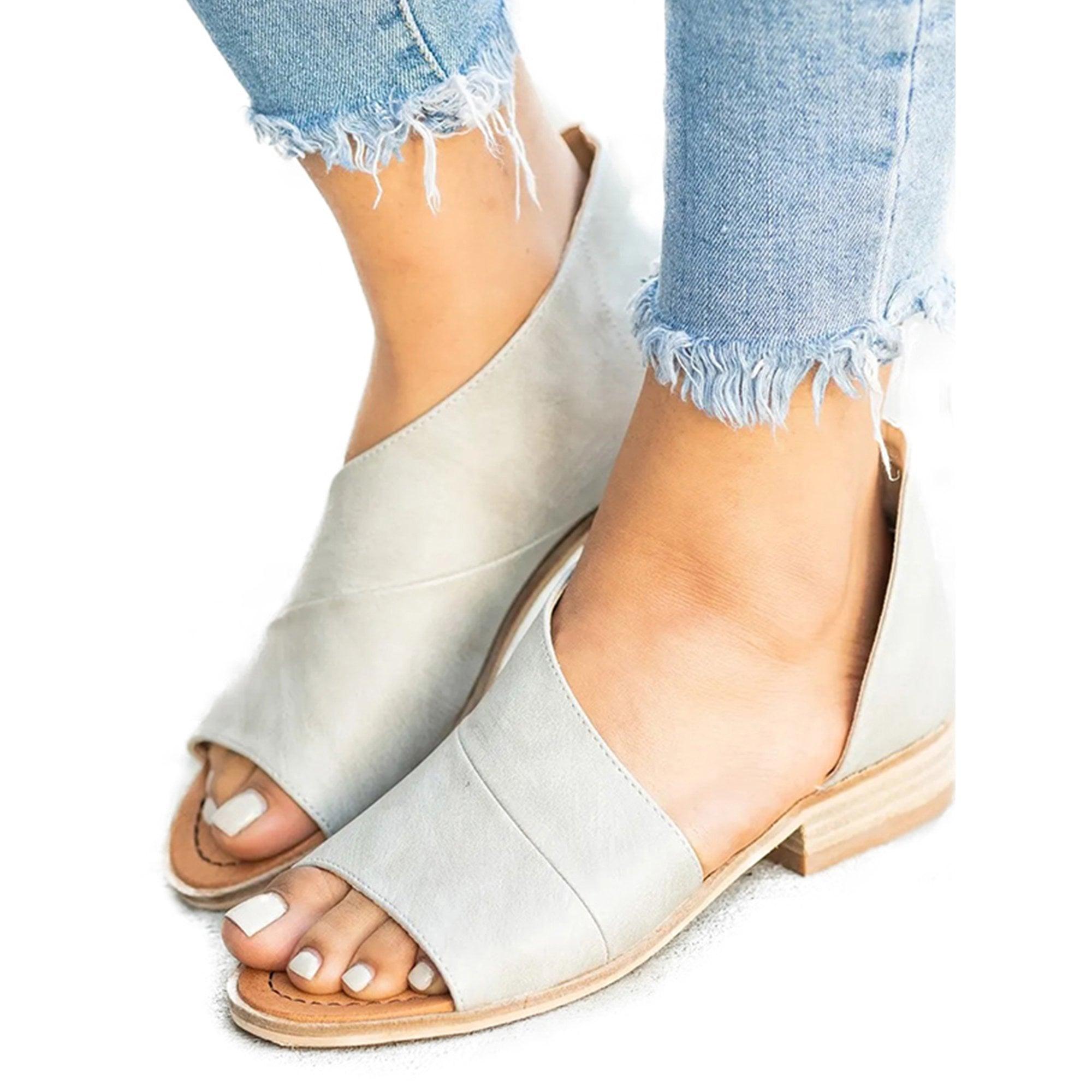 low wedge espadrilles open toe
