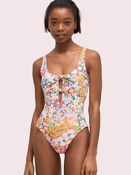 16a154e459795 Floral Dots Reversible One-Piece | Best Floral Swimsuits 2019 ...