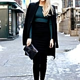 Understated silhouettes can still have a major effect when they're done with brilliant color and perfect proportions.