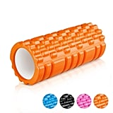 Enkeeo Grid Design Foam Roller