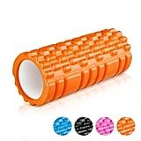 Enkeeo Grid Design Foam Roller