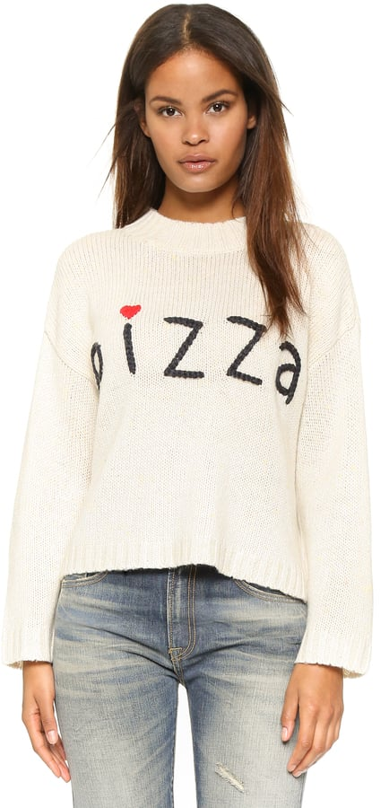 Wildfox Couture Simply Pizza Dinner Party Sweater ($132)