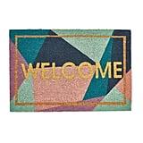 Aldi Glitter Welcome Coir Mat