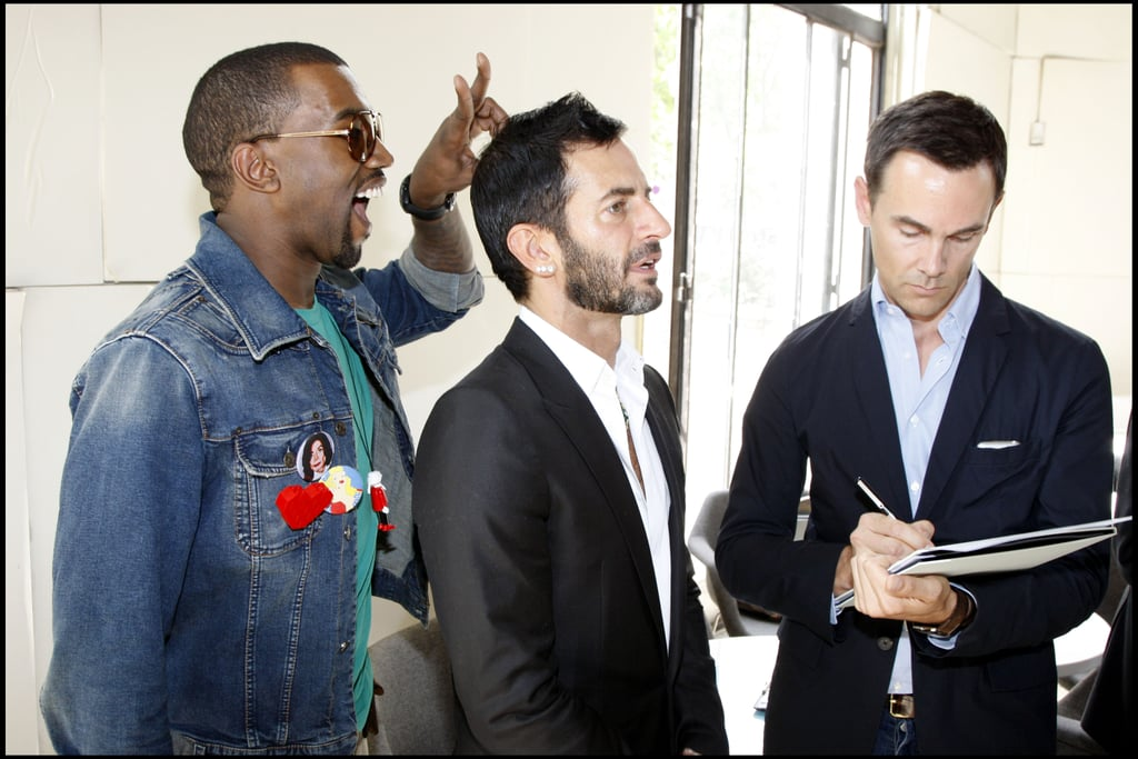 When He Photobombed Marc Jacobs