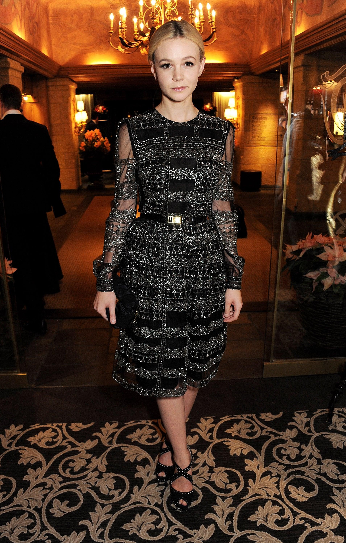 Carey Mulligan in Valentino at the 2012 Asmallworld Gala