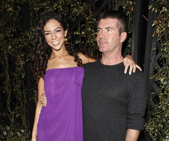 Photo of Terri Seymour and Simon Cowell Out to Dinner in LA