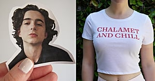 I'm Officially Boarding the Timothée Chalamet Train, and I'll Be Wearing These T-Shirts