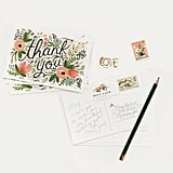 Rifle Paper Co. Wildflower Thank You Postcards