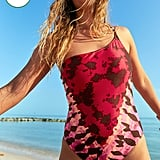Aerie One-Shoulder One-Piece Swimsuit