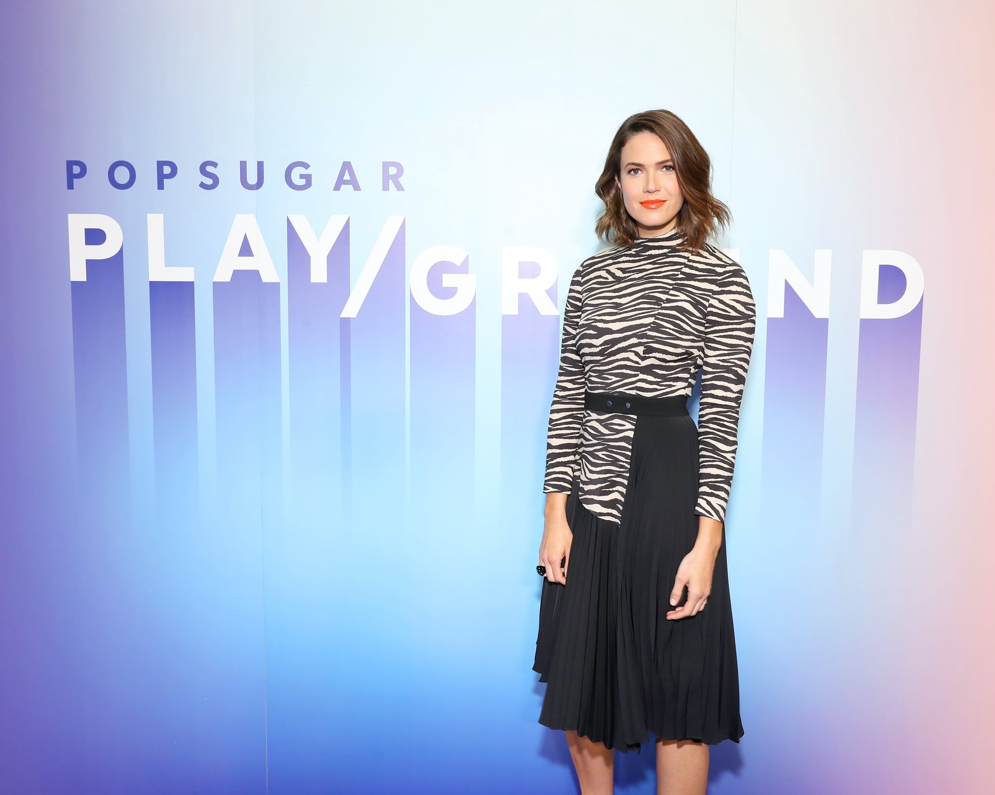 NEW YORK, NEW YORK - JUNE 22: Mandy Moore attends the POPSUGAR Play/ground at Pier 94 on June 22, 2019 in New York City. (Photo by Cindy Ord/Getty Images for POPSUGAR and Reed Exhibitions )