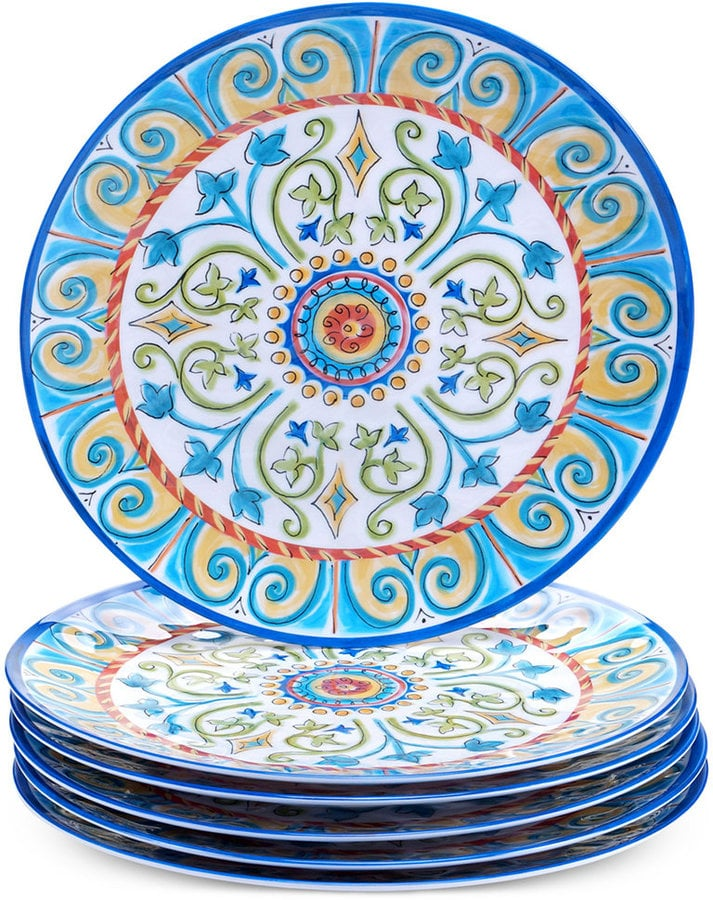 Certified International Melamine Tuscany Dinner Plate ($11)