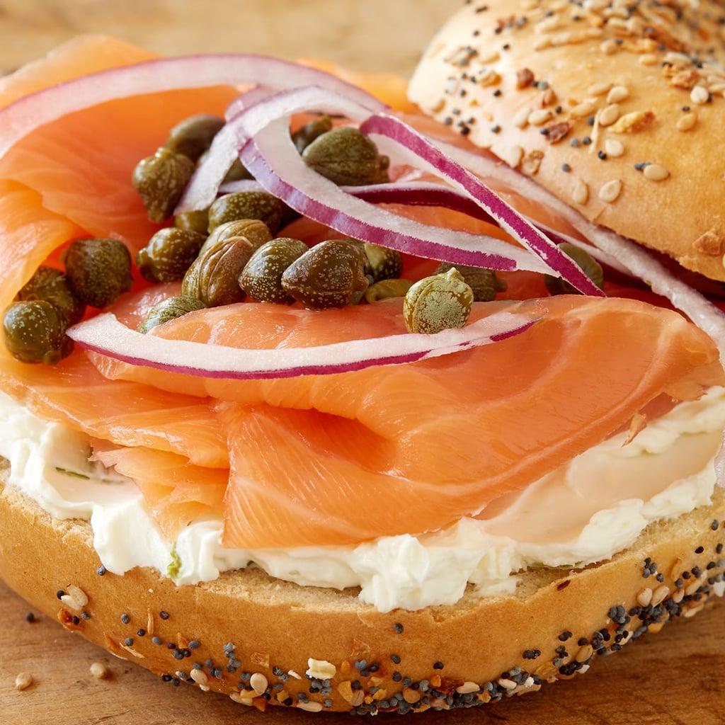 H&H Bagels, Cream Cheese & Nova Scotia Salmon