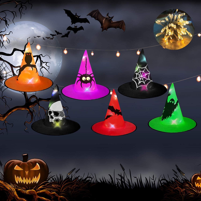 Witch Hat Halloween Lights
