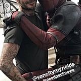 Ryan Reynolds Apologizes to David Beckham on Instagram
