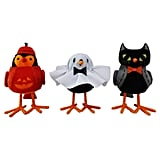 Hyde and Eek! Boutique Halloween Trick-or-Treater Decorative Fabric Birds