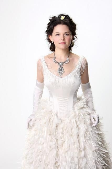 Ginnifer Goodwin as Snow White / Sister Mary Margaret on ABC's Once Upon a Time.