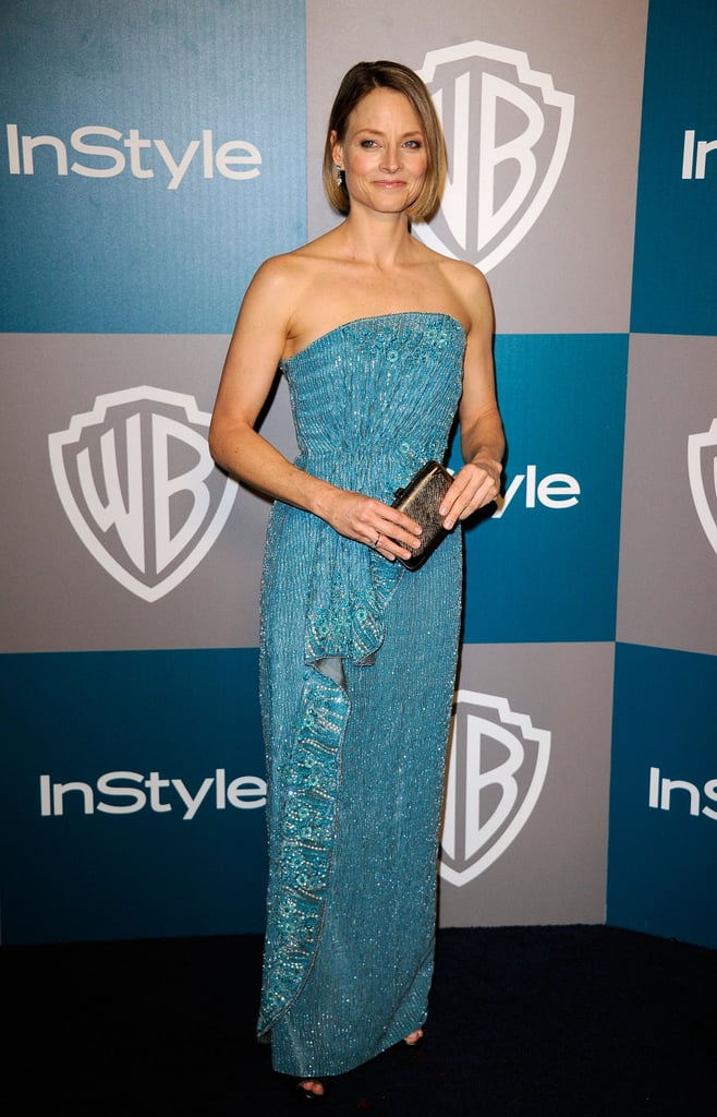 Jodie Foster at  InStyle's Golden Globes afterparty.