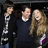 Katie Holmes, Tom Cruise, and Sarah Jessica Parker