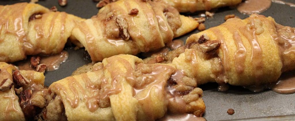 Apple Strudel Croissant Recipe + Photos