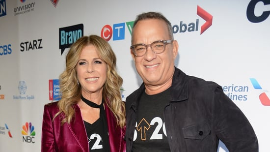 EXCLUSIVE: Rita Wilson and Tom Hanks Talk 'Darkest Days' at Stand Up to Cancer Telecast