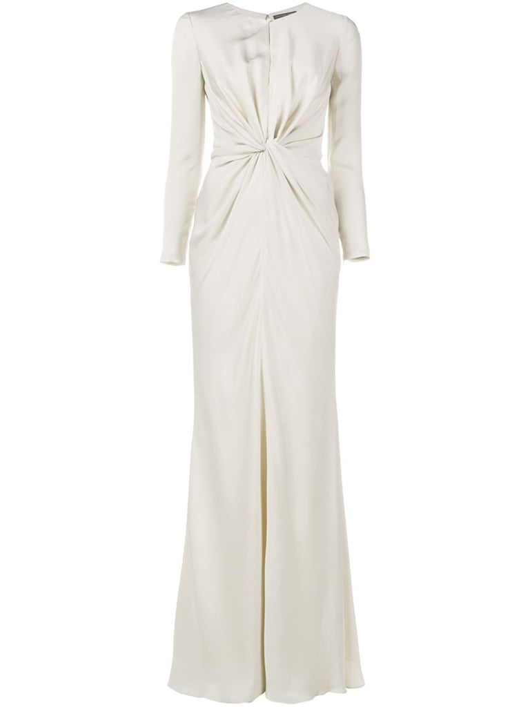 Alexander McQueen Long Knot Evening Dress