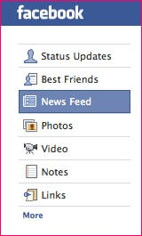 Facebook Can Function as a RSS Reader